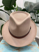 Unisex Fedora Brim Hat ~ Evolve (Natural)