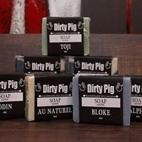 Dirty Pig Noir - Men's Soap