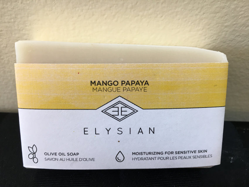 Mango-Papaya Soap