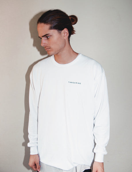 At The Door Longsleeve White