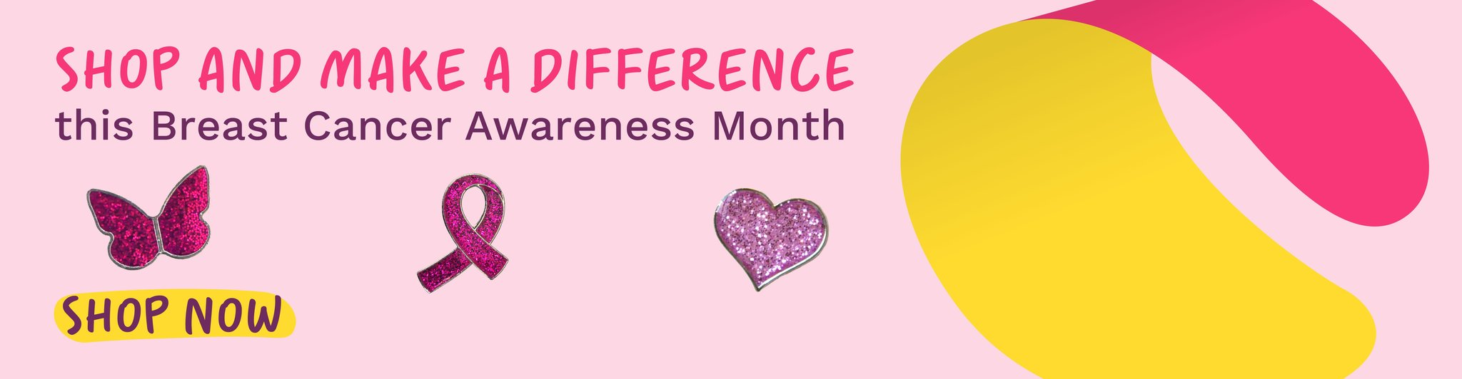 Shop and make a difference this Breast Cancer Awareness Month