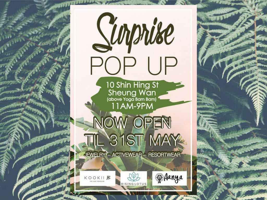 Surprise Pop-Up Shop