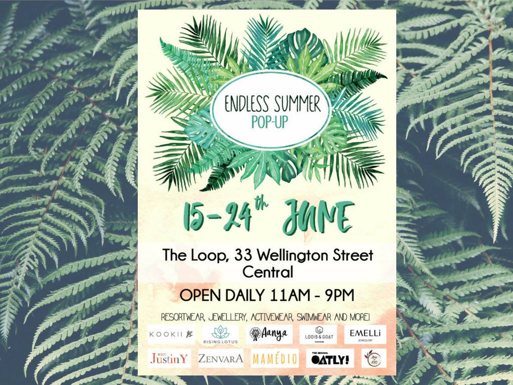 Endless Summer Pop-Up Shop