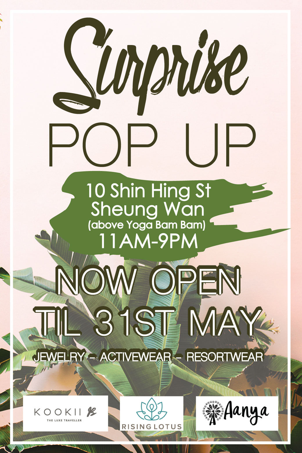 Surprise Pop-Up Shop | Hong Kong Pop-Ups
