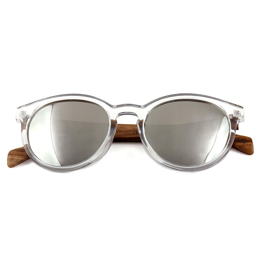 Rio - Rounded Plastic and Wood Sunglasses - Accessory by Mer Culture Swimwear Hong Kong