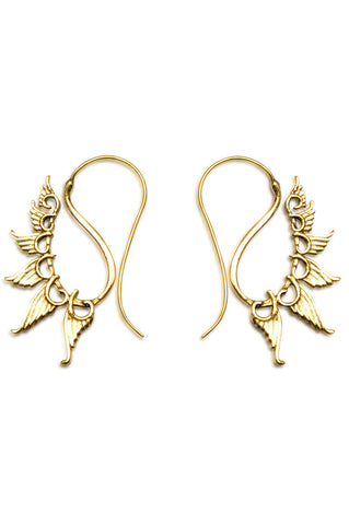Shop Gold Multi Wing Loop Earring