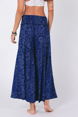 Shop Women's Paloma Palazzo Pants in Blue Floral print