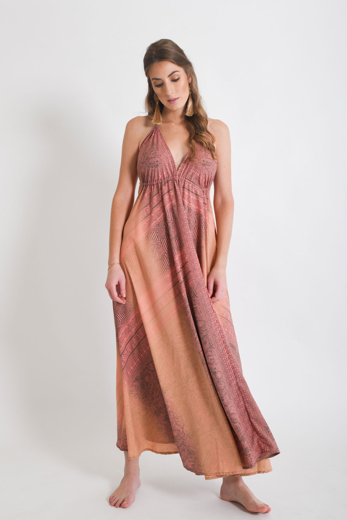 580ca2e9408b0 Shop Women s Maxi Dress Paisley Pink