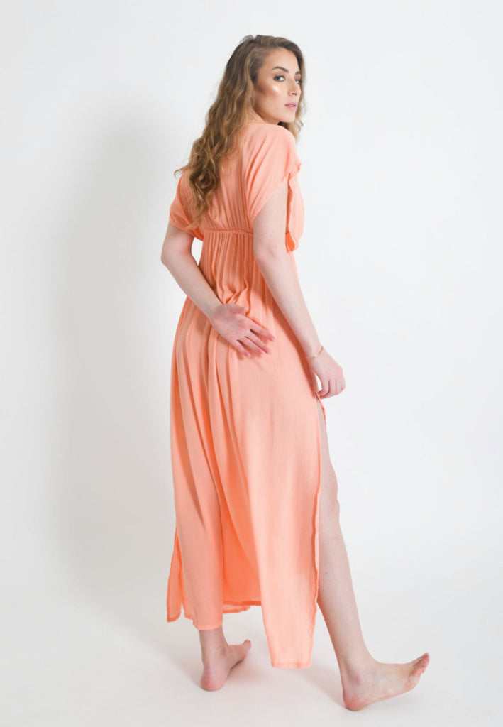 Karina Maxi Dress | Coral