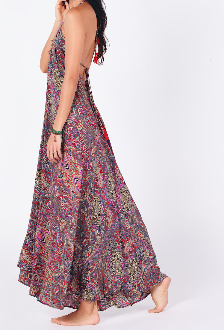 Ona Maxi Dress | Purple