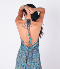 Ona Maxi Dress | Blue