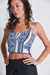 Sol Womens Crop Top
