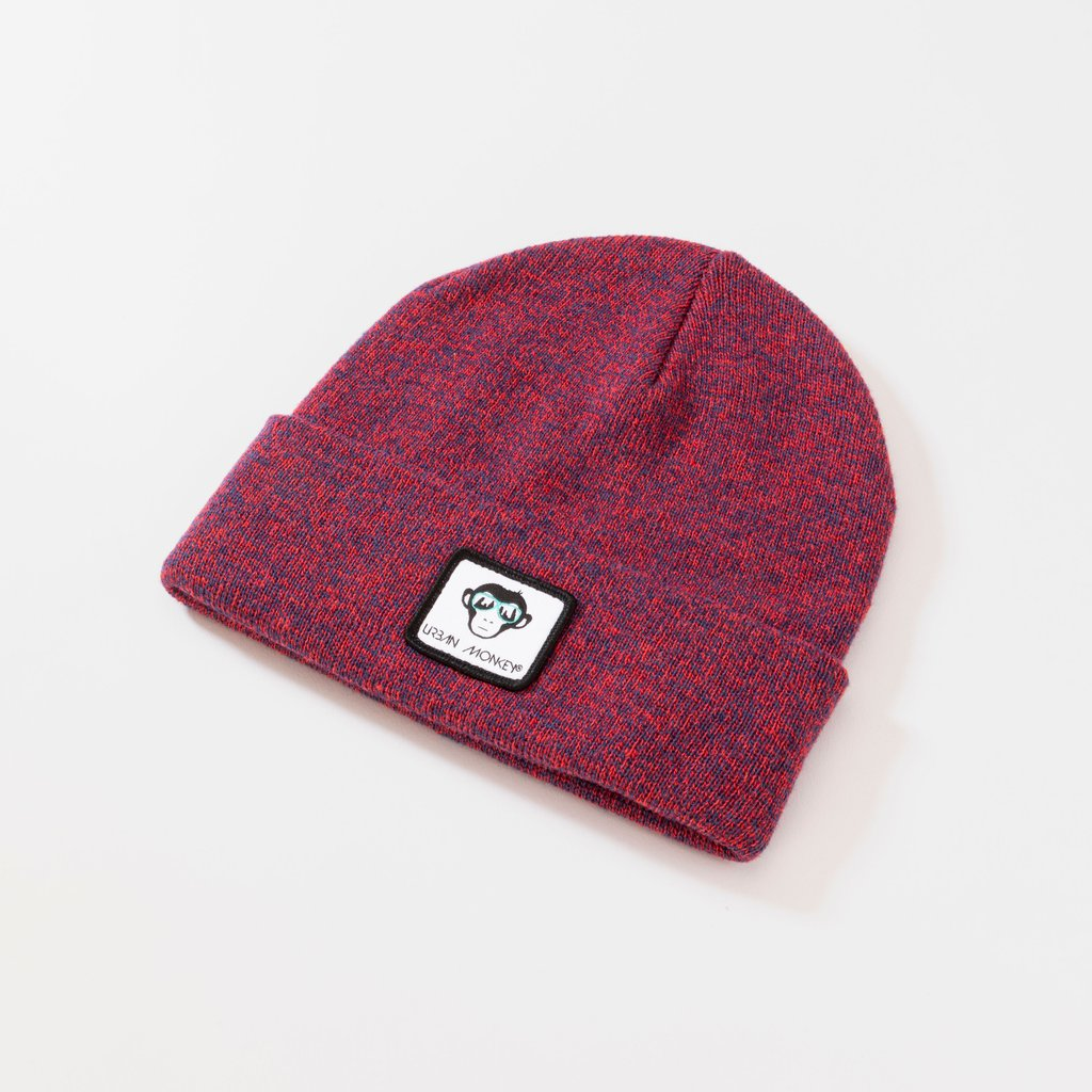 Knit Beanie | Red