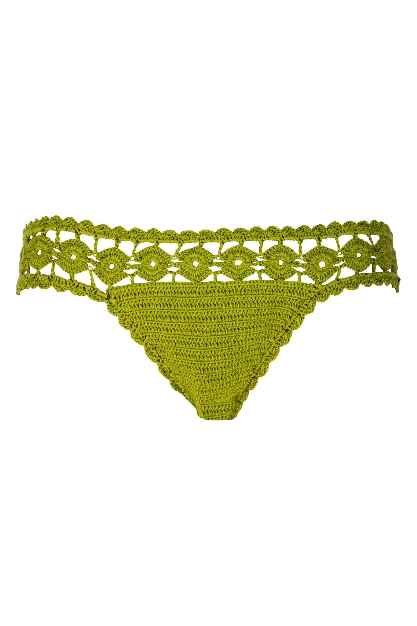 Geometry Crochet Bottom | Meknes - Bikini Bottom by Mer Culture Swimwear Hong Kong