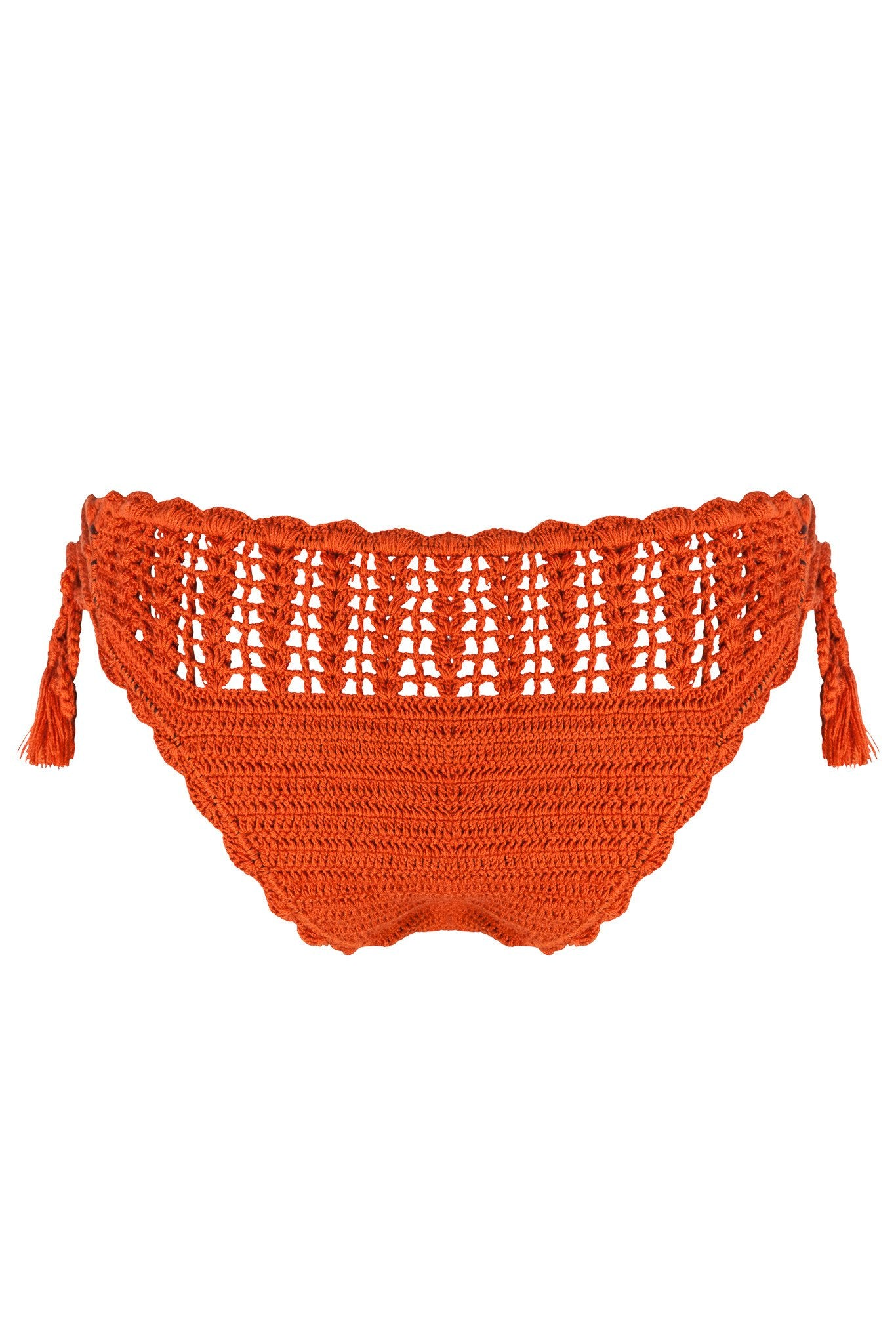 Lace-Up Crochet Bottom | Marrakech - Bikini Bottom by Mer Culture Swimwear Hong Kong