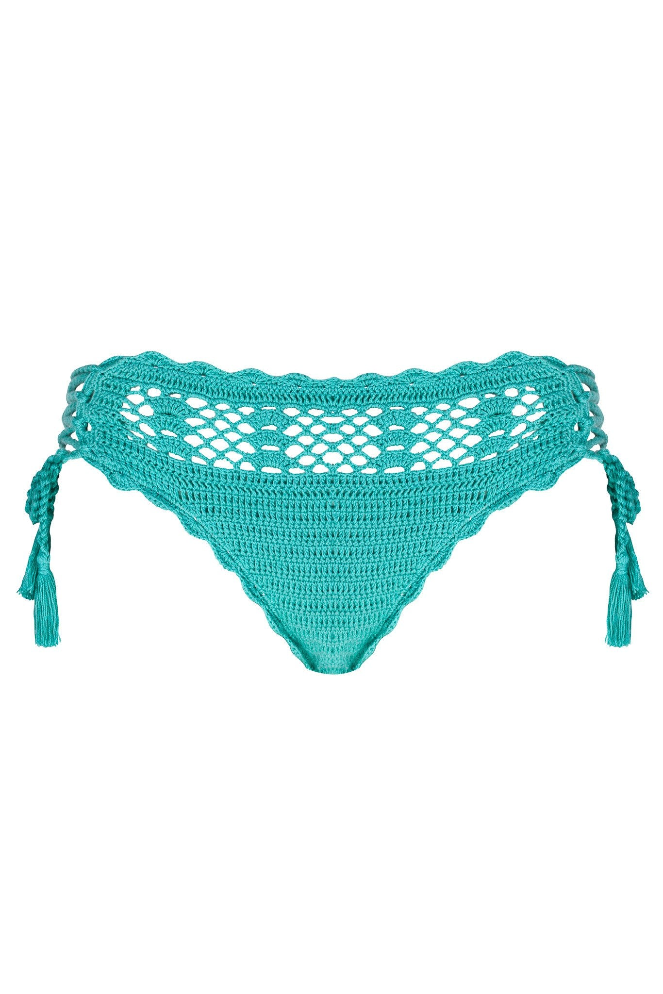 Midi Crochet Bottom | Essaouira - Bikini Bottom by Mer Culture Swimwear Hong Kong