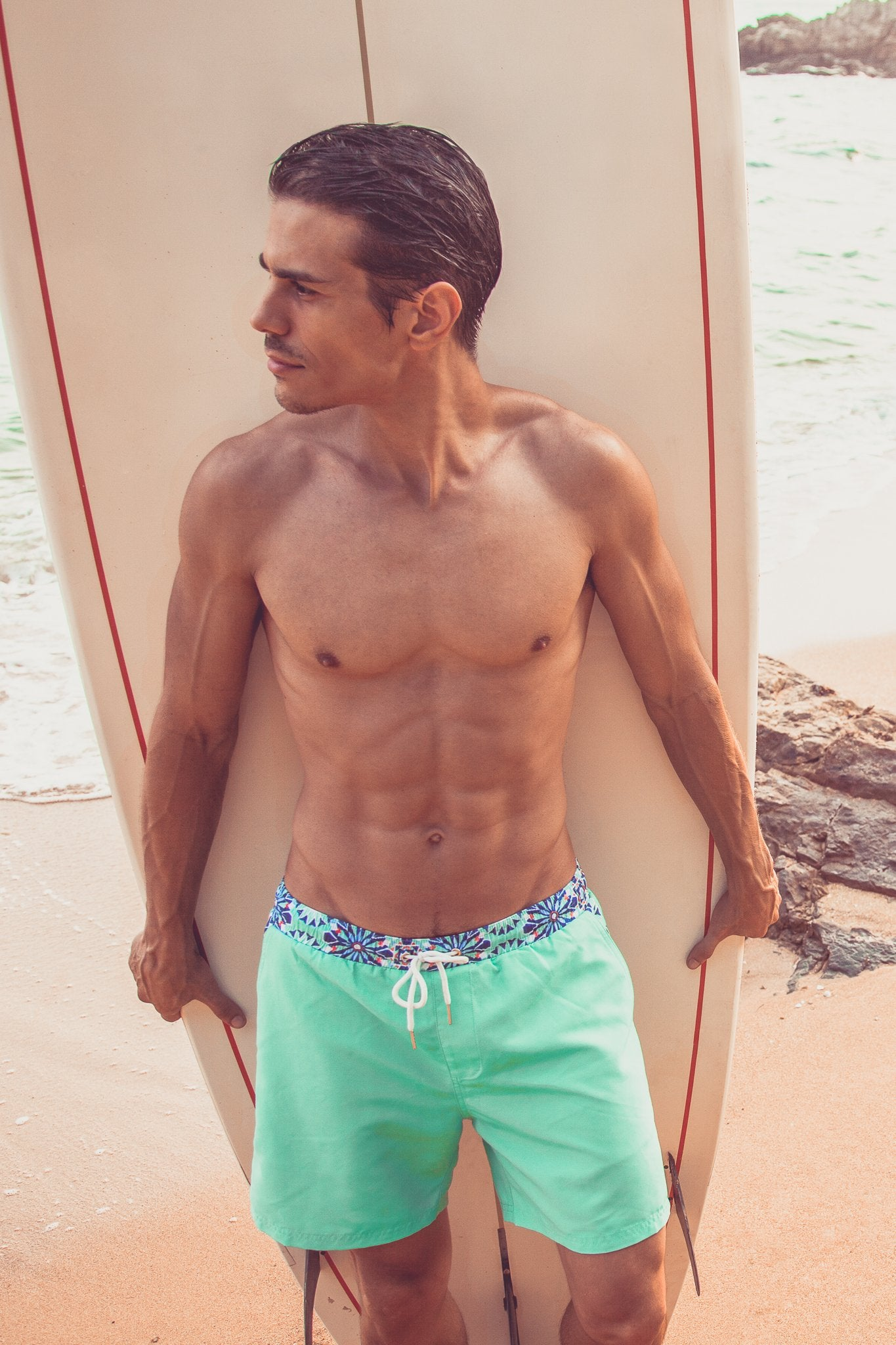 Zillij Swim Trunks - Trunks by Mer Culture Swimwear Hong Kong