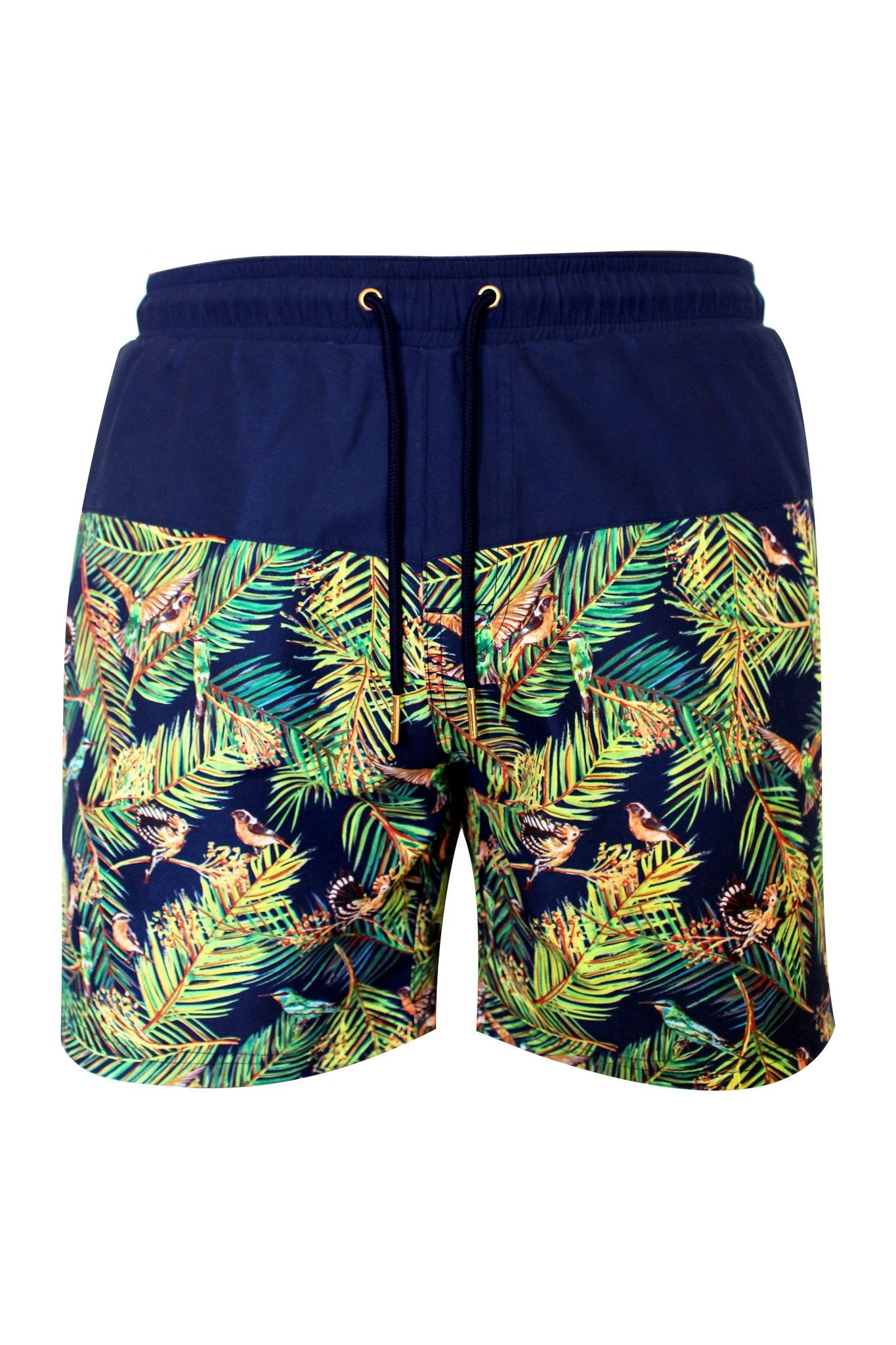 Sahara Bird Swim Trunks -  by Mer Culture Swimwear Hong Kong