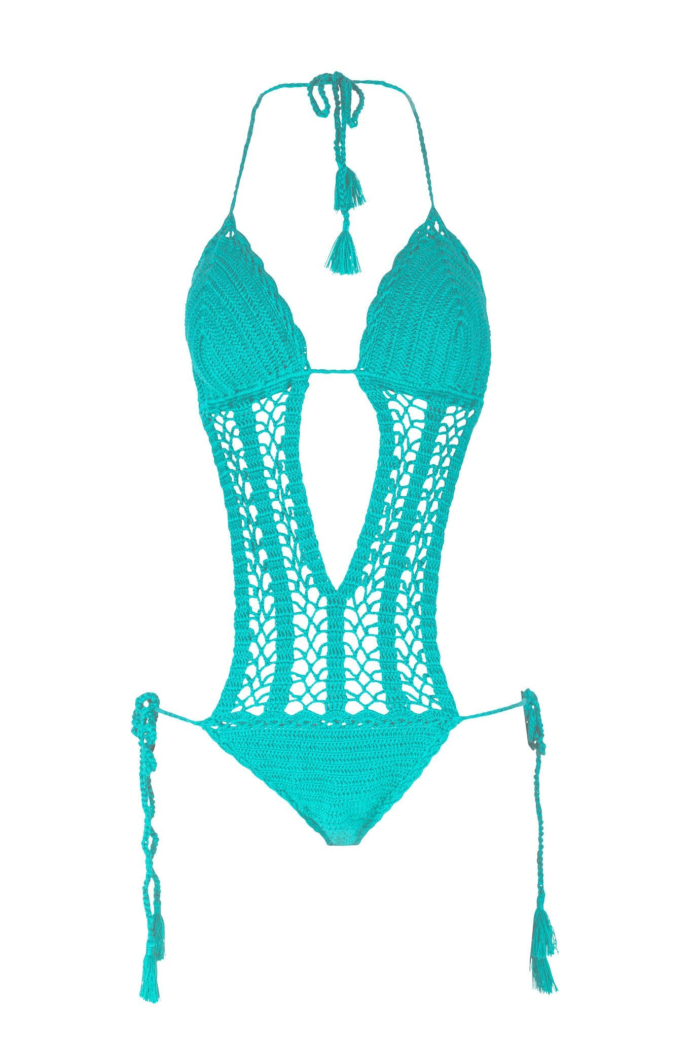 Crochet Monokini | Essaouira - Swimsuit by Mer Culture Swimwear Hong Kong