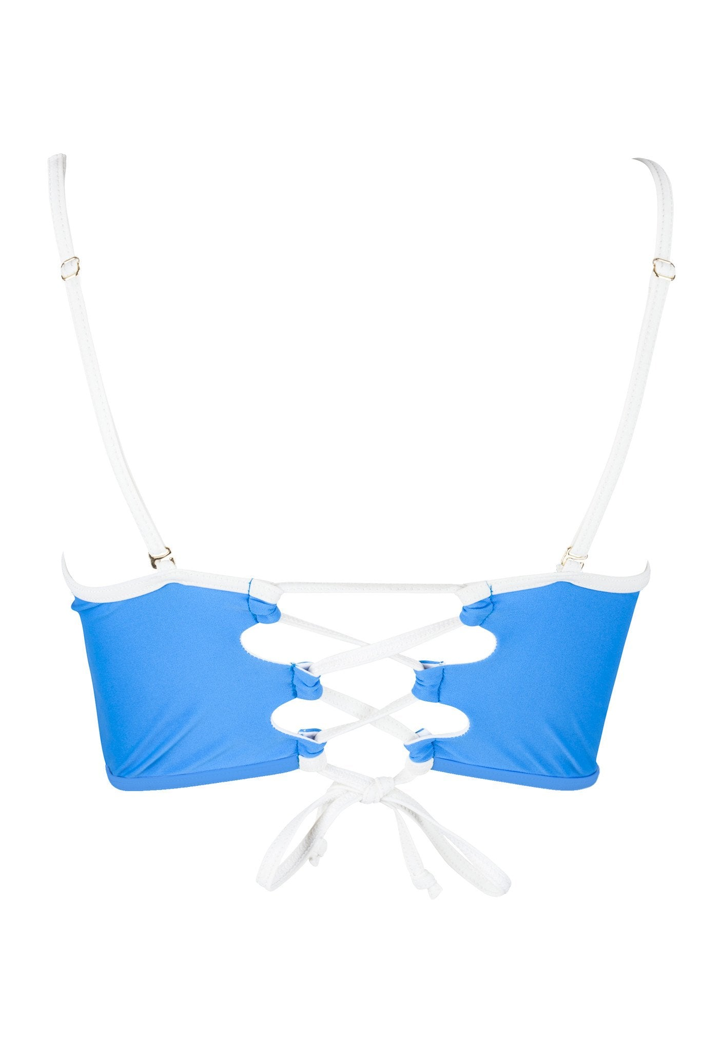 Midi Bra Top | Chaouen - Bikini Top by Mer Culture Swimwear Hong Kong
