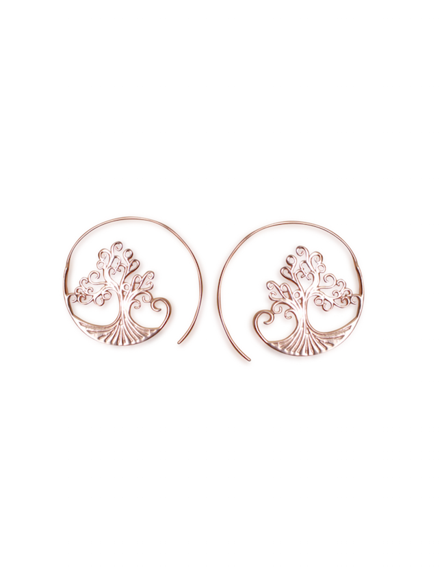 Shop Boho Tree of Life Loop Earring