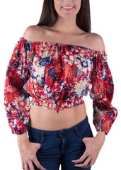 Shop Women's Floral Off Shoulder Top | Aanya