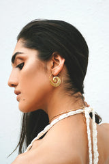 Shop Gold Ethnic Loop Earring