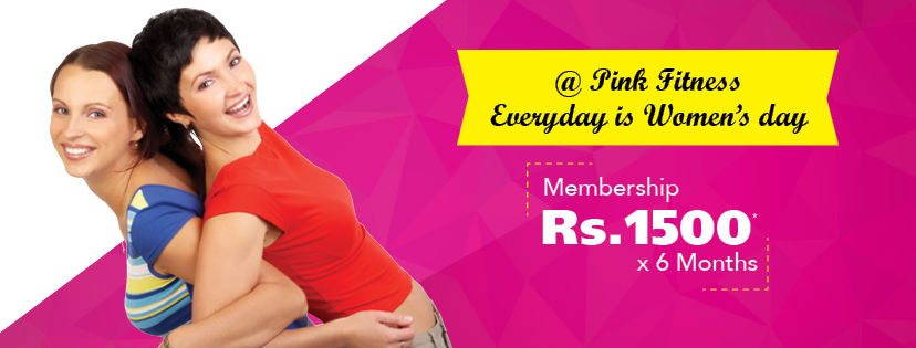 Pink Fitness Women's Day Special