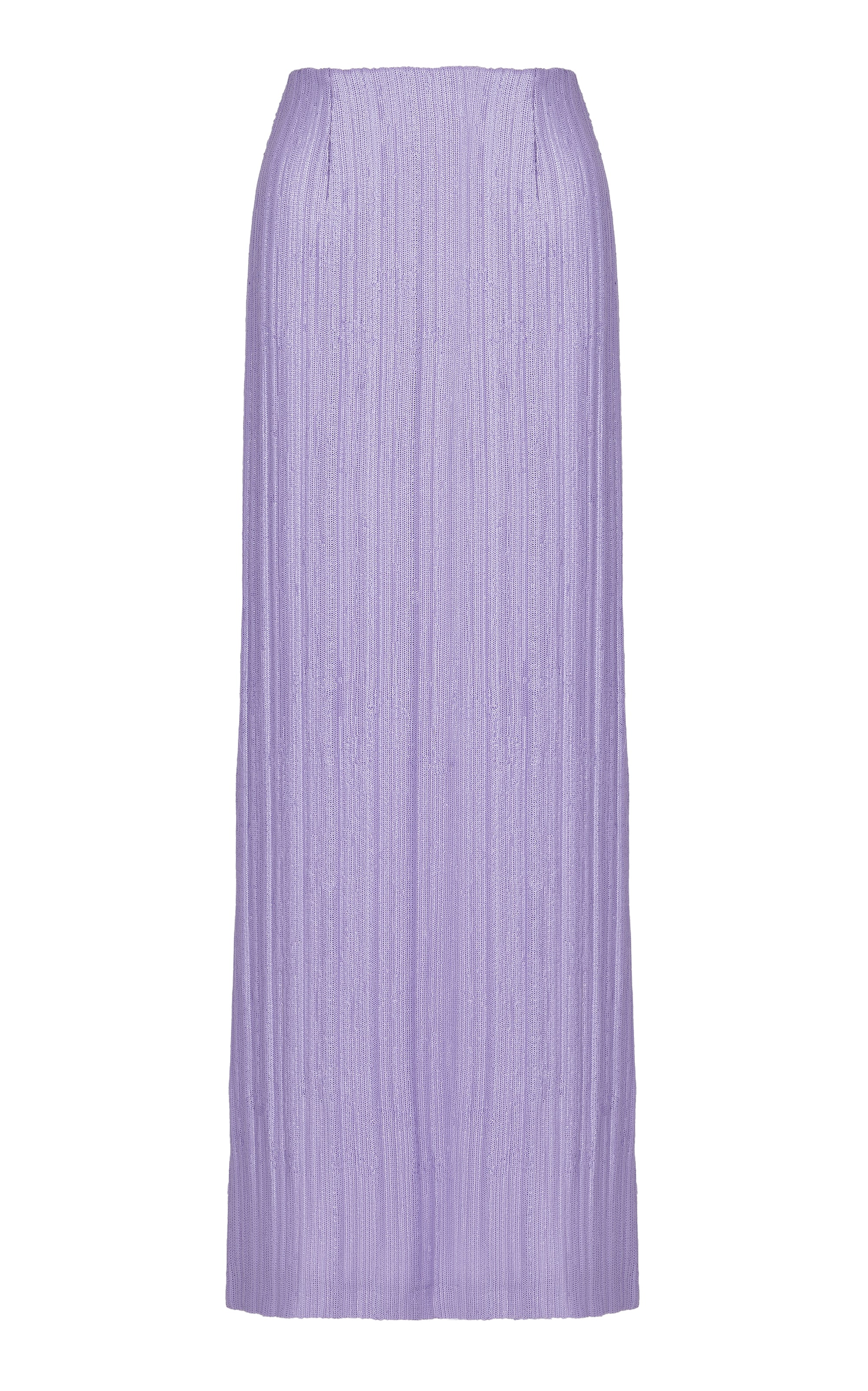 LILAC SEQUIN LONG SKIRT