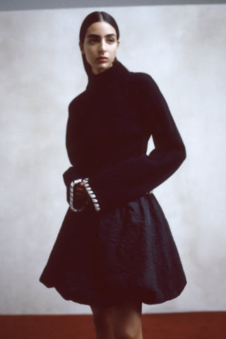 the-colette-sweater-in-black,the-tanya-skirt-in-black