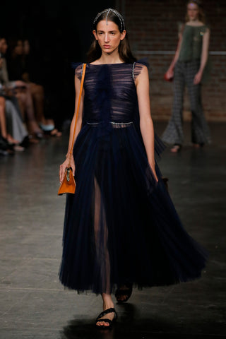 the-paige-dress-in-navy,the-torrance-sandal-in-black-leather
