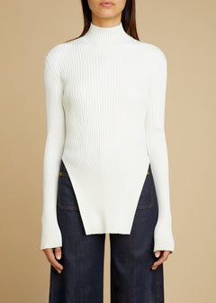 The Jacque Sweater in Cream