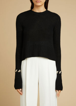The Alena Sweater in Black