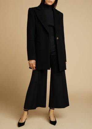 The Allison Coat in Black