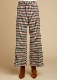 The Andrea Pant in Red Check