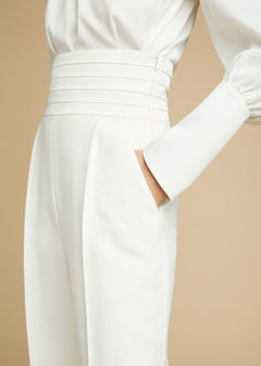 The Blaine Trouser in Ivory