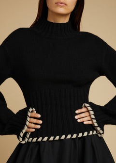 The Colette Sweater in Black