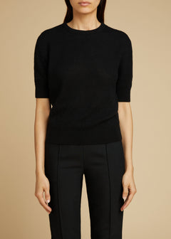 The Dianna Sweater in Black