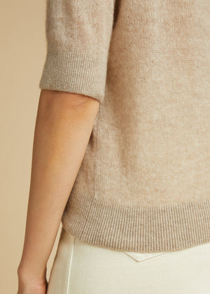 The Dianna Sweater in Powder