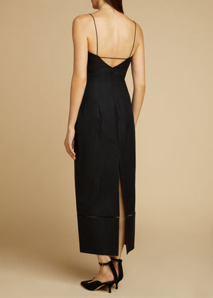 The Dierdre Dress in Black