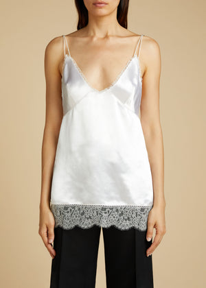 The Emi Tank in White