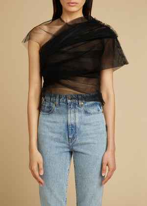 The Gianna Top in Black