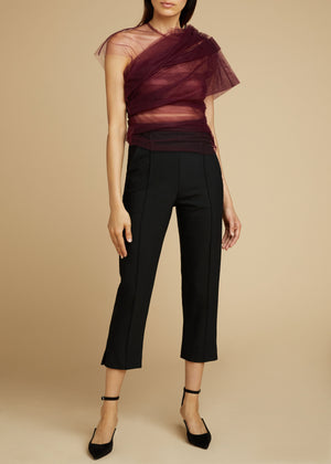 The Gianna Top in Bordeaux