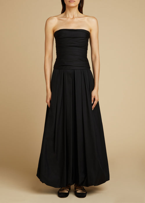 The Ingrid Dress in Black