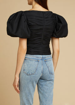 The Kai Top in Black