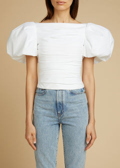 The Kai Top in White