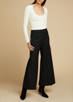 The Andrea Pant in Black