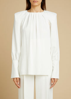 The Kirsty Top in Ivory