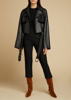 The Krista Jacket in Black