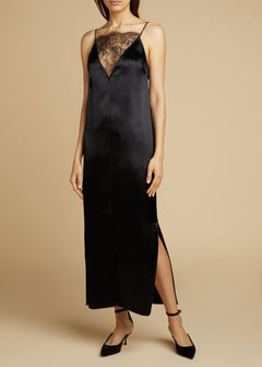 The Leandra Dress in Black
